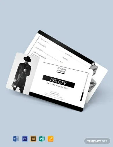 small business coupon template