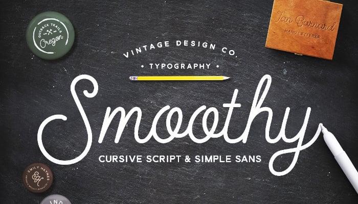 Smoothy - Cursive