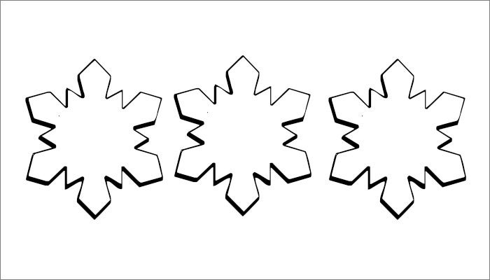Snowflake Design Free