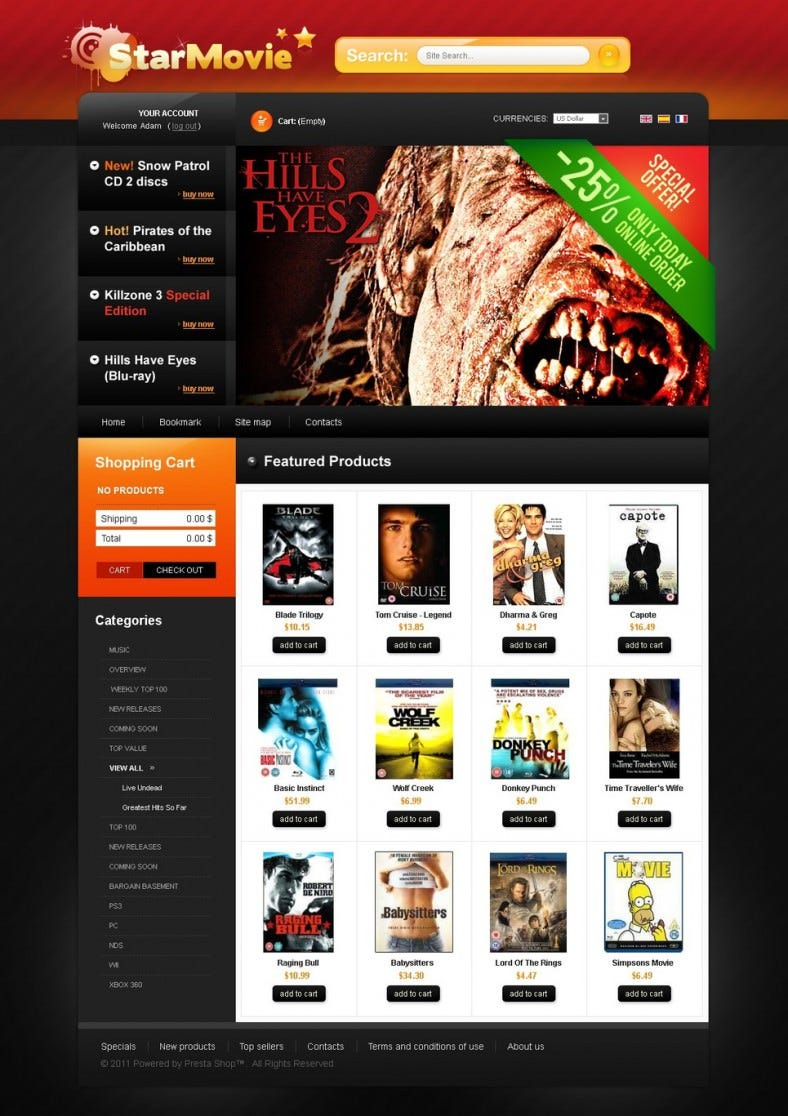 star movie prestashop template responsiv 788x1116