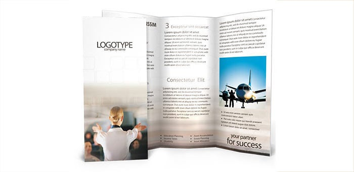 Stewardess Brochure Template