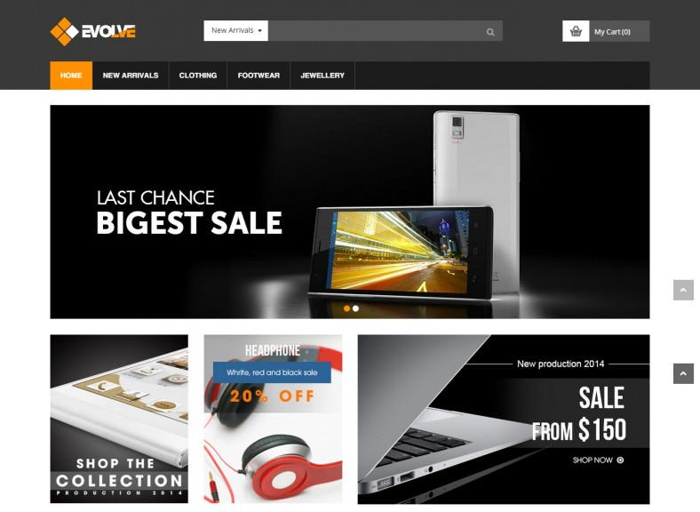 Technology Responsive Prestashop Theme