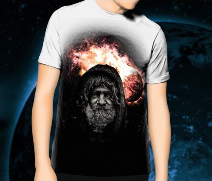 template aeonhart design t shirt