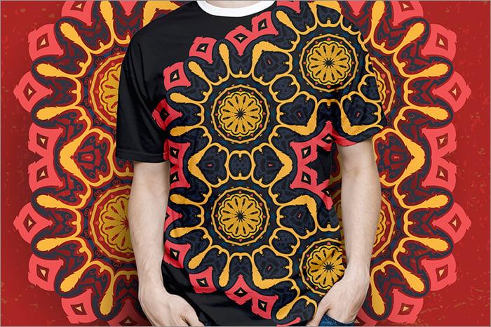 thai ornament t shirt