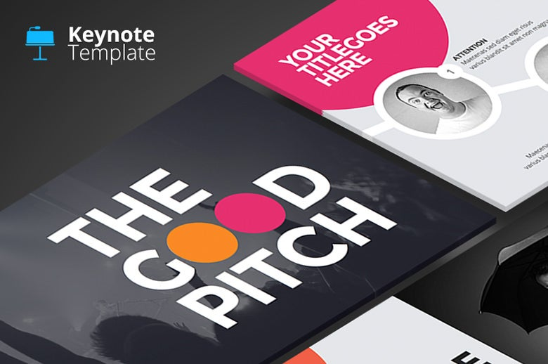 18 professionally designed keynote templates free for Agency pitch template