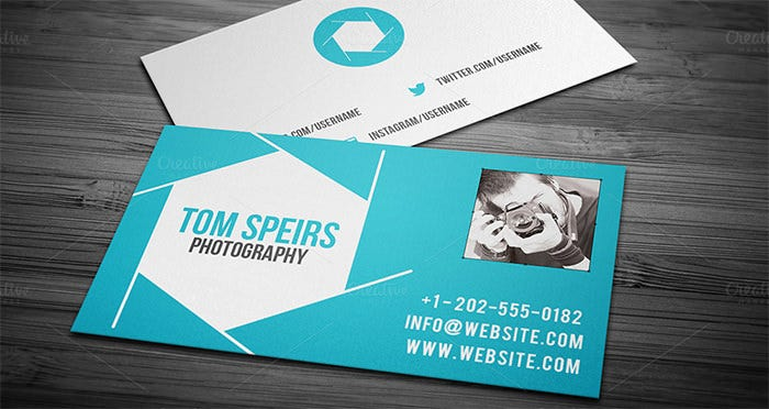 ... + Photography Business Cards Free Download : Free u0026 Premium Templates