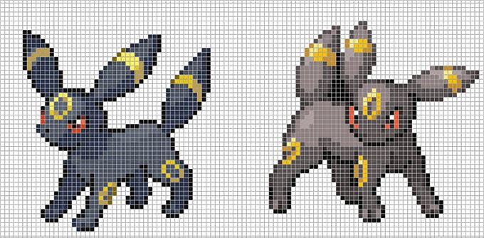 umbreon free template