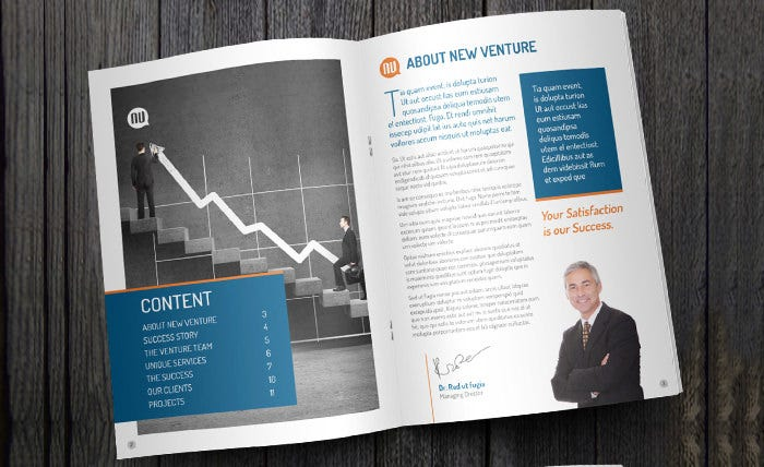 Venture Corporate Business Brochure