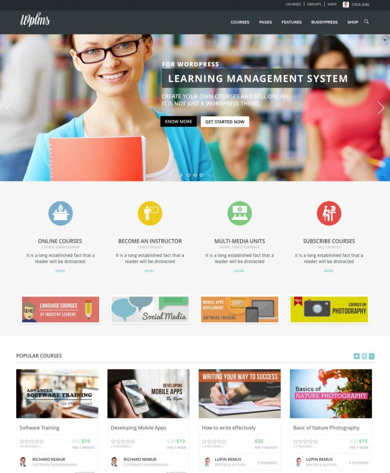 wplms learning management system 788x956
