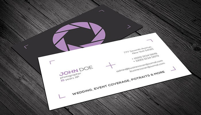 wedding event card