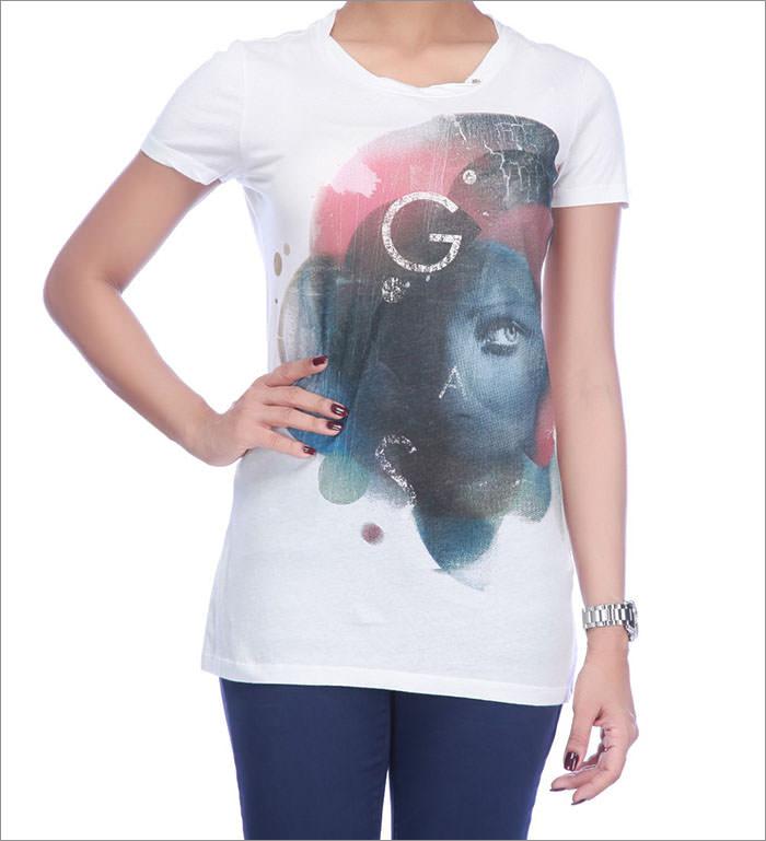 women simple design t shirt