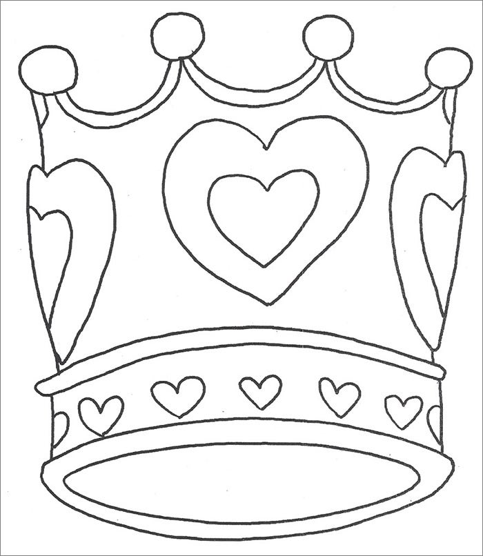 Crown Template Free Templates Free Premium Templates Princess Tiara Coloring Pages Free Coloring Sheets