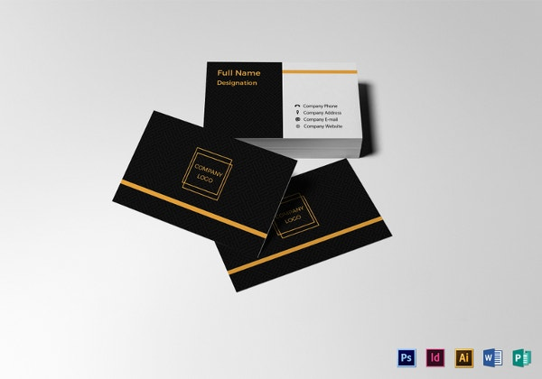 28 Blank Business Card Templates Free Psd Ai Vector Eps Format