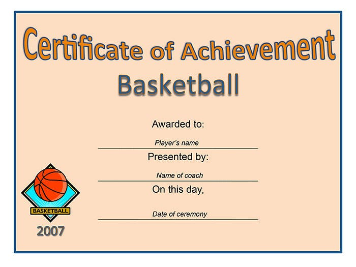 certificate-of-achievement-basketball