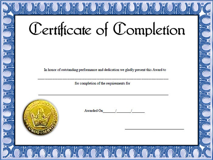 Free downloadable certificates of completion pasoevolist free downloadable certificates of completion yelopaper Image collections