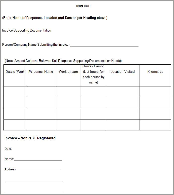 free contractor invoice template U5KxRAEA