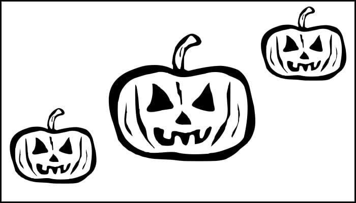 cool pumpkin carving Template