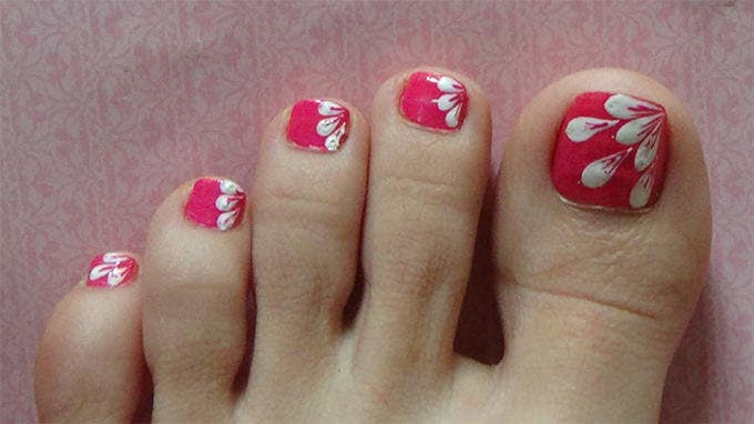 Cute Toes Nail Designs - 18+ Toe Nail Art Designs & Ideas Free & Premium Templates