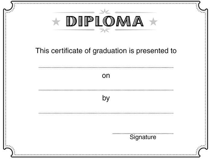 Doc620479 Graduation Certificate Template Free – Sample Graduation Certificate
