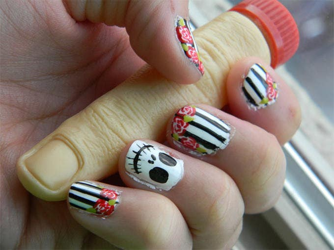 24 Halloween Nail Art Designs And Ideas Free Premium Templates