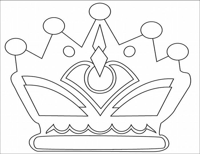 Crown Template - Free Templates