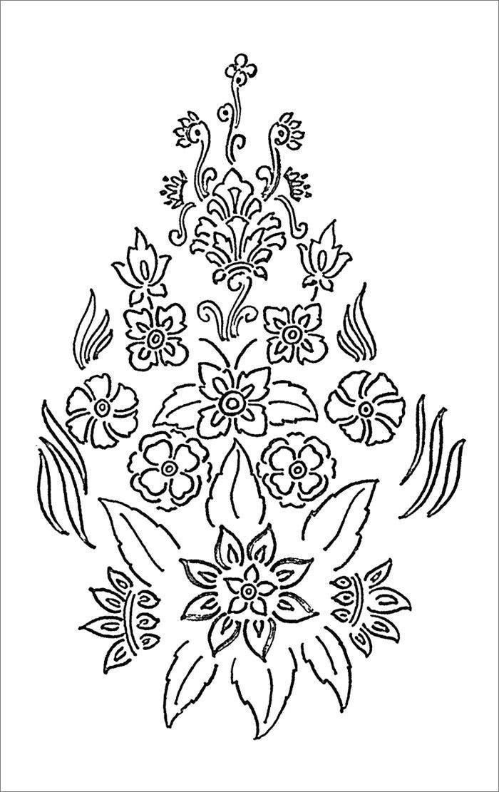 free printable flower templates120