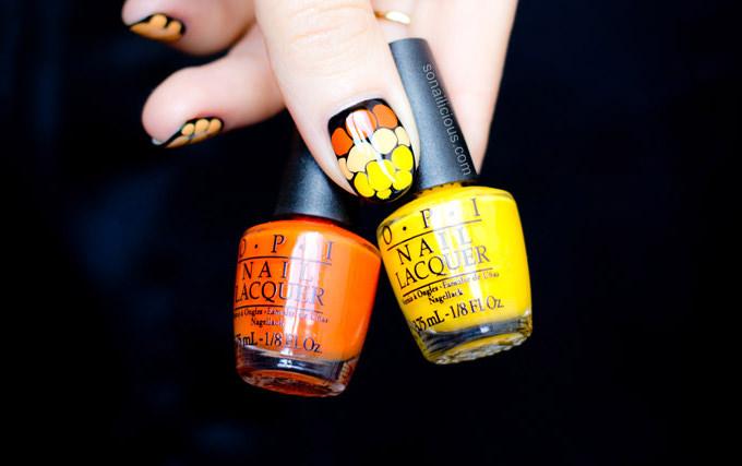 halloween nail art design s