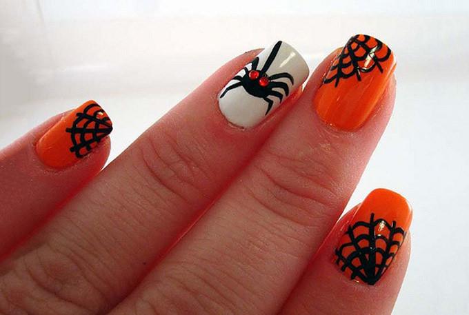 Halloween Nail Art Design - 25+ Halloween Nail Art Designs And Ideas Free & Premium Templates
