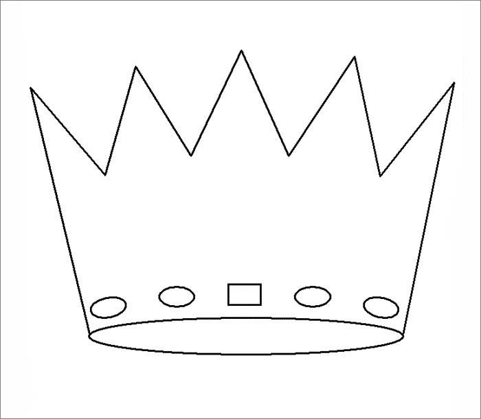paper crown template for kids - crown template free templates free premium templates