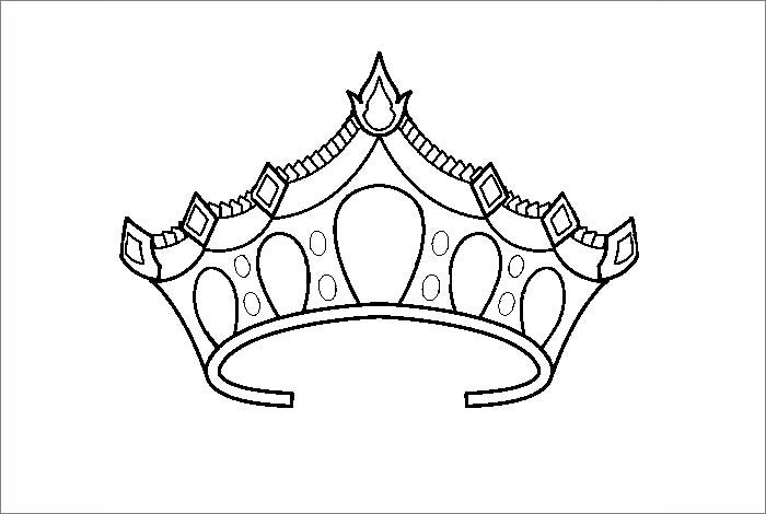 king crown template1
