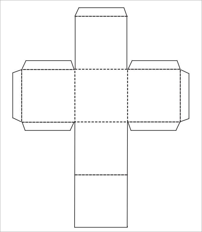 Как сделать куб 3d из бумаги