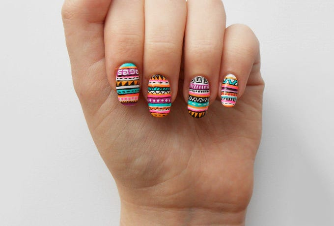 latest acrylic nail trend