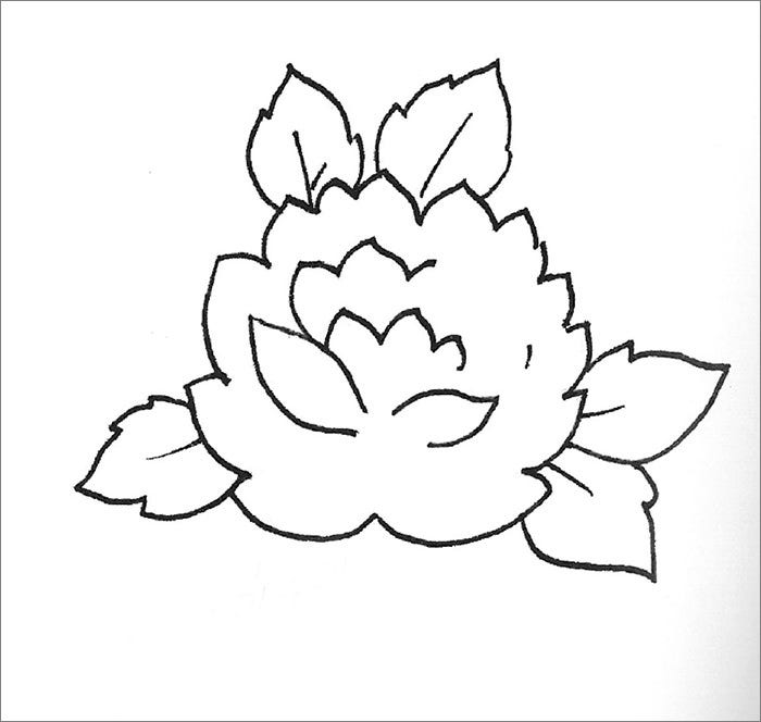 printable flower template1