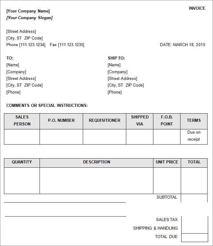 sales invoice111