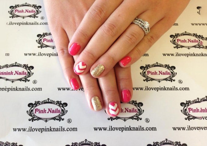 simple acrylic nail designs