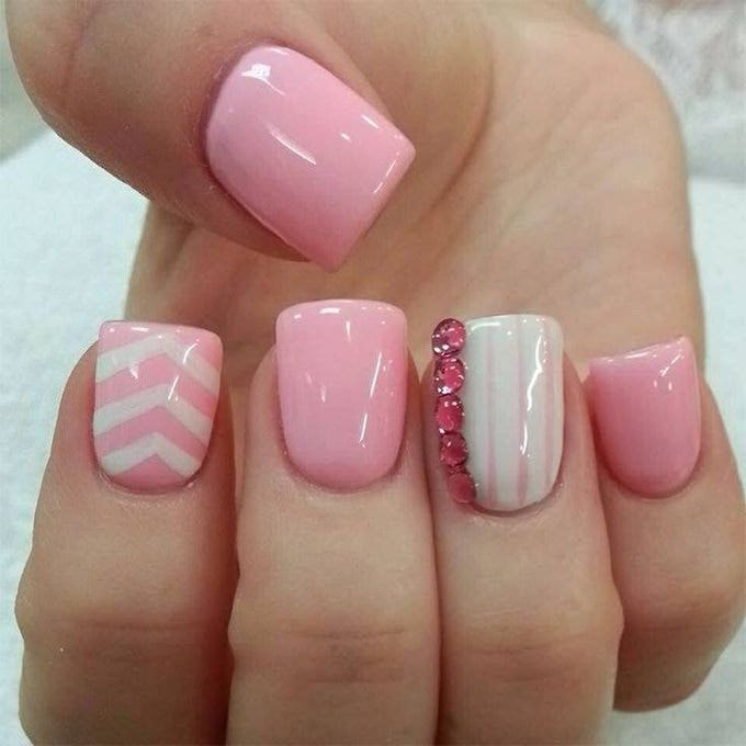 Nail Art Simple Designs: 30+ Easy And Amazing Nail Art Designs For Beginners