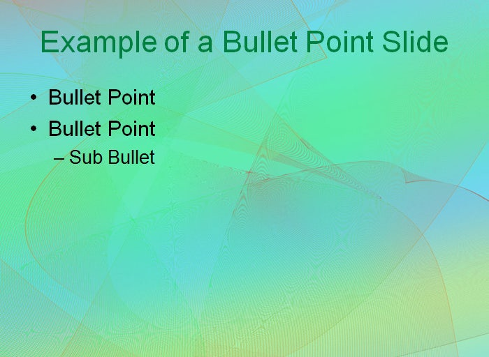 subtle grid powerpoint template