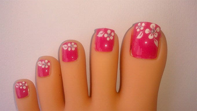 20 toe nail art designs ideas free premium templates summer toe nail design prinsesfo Choice Image