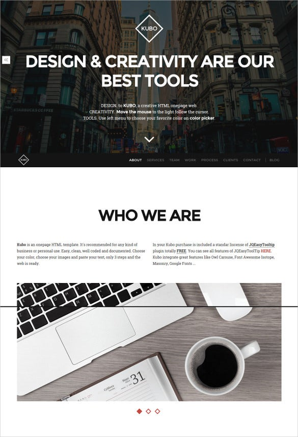 responsive 3d multipurpose website template