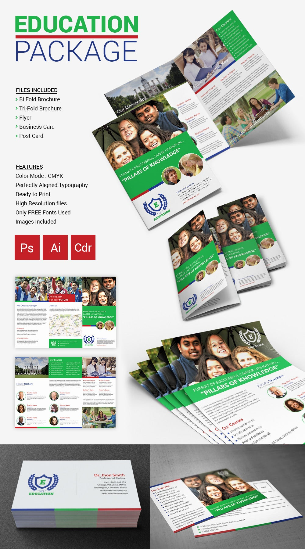 Education Brochure Package