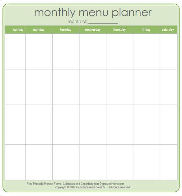 graphic relating to Printable Menu Template named 47+ Blank Menu Templates - PSD, EPS, PDF, Internet pages Cost-free