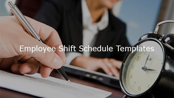 employee shift schedule templates