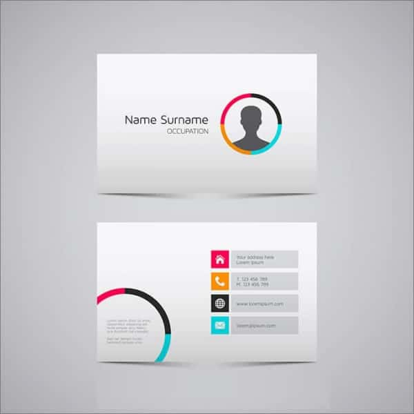 simple id card template - Leon.escapers.co
