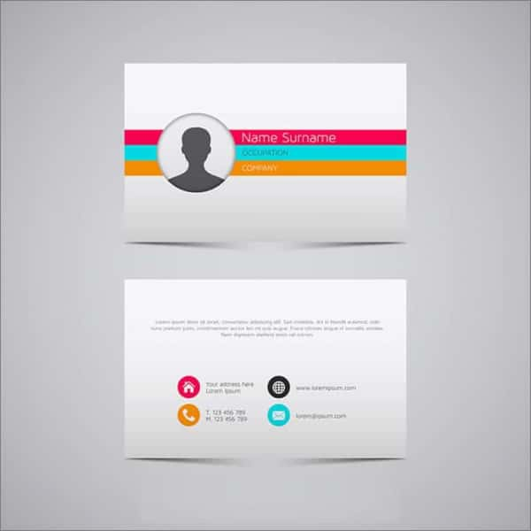 30 blank id card templates free word psd eps formats download simple elegant free business card download accmission Gallery