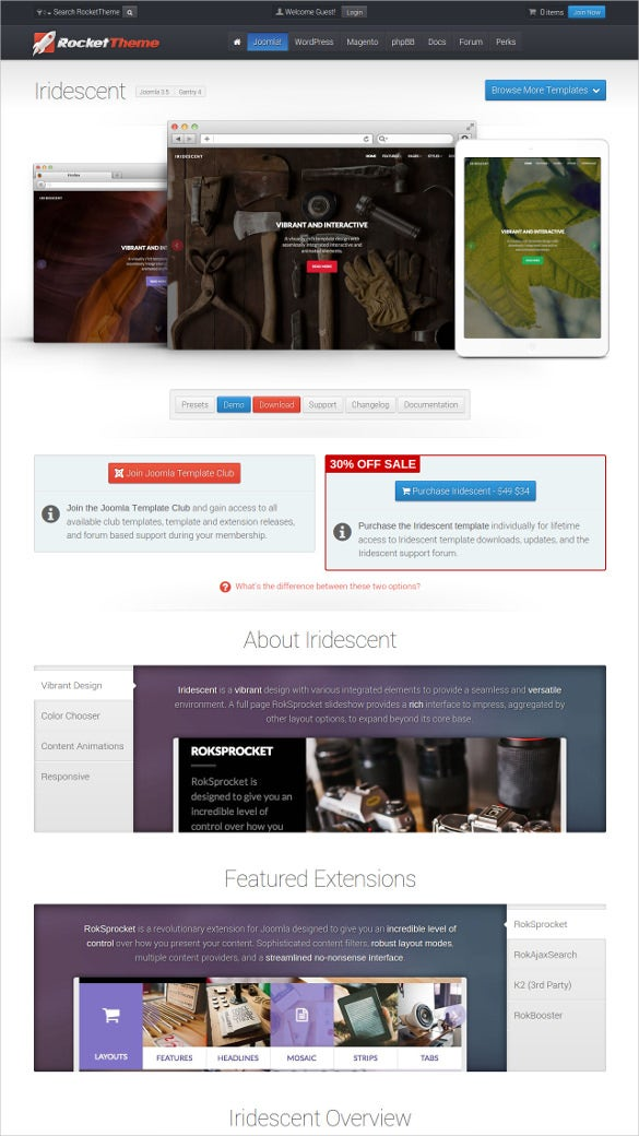 free engineering design website template