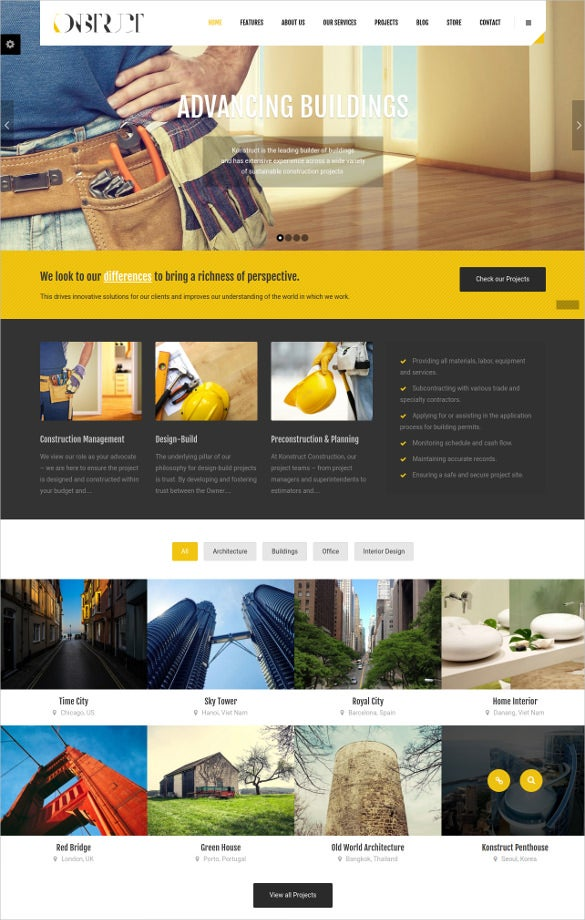 premium engineering wordpress website theme