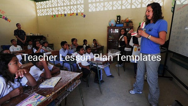 teacherlessonplantemplate