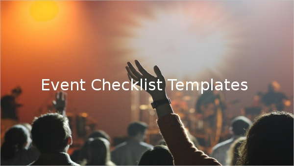 featured image event checklist template