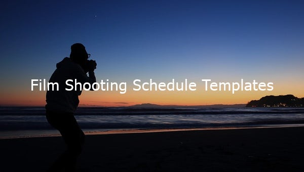 filmshootingscheduletemplates