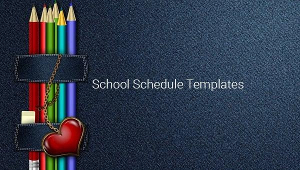 schoolscheduletemplatesss